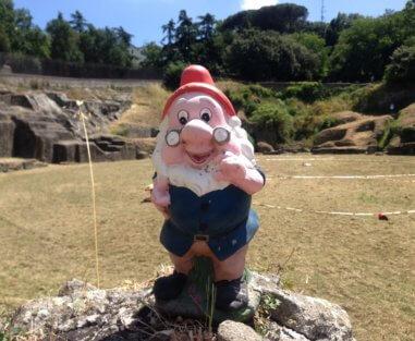 Dotto all'anfiteatro romano di Albano Laziale